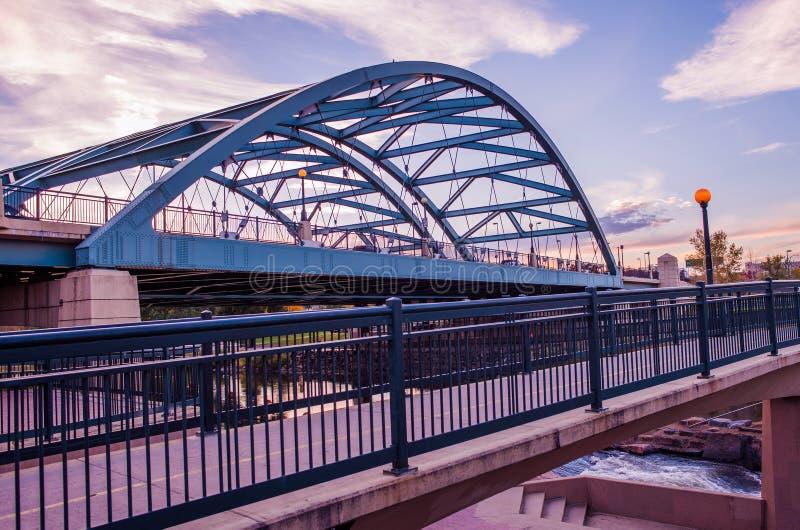Οδική γέφυρα του Ντένβερ στοκ εικόνα με δικαίωμα ελεύθερης χρήσης