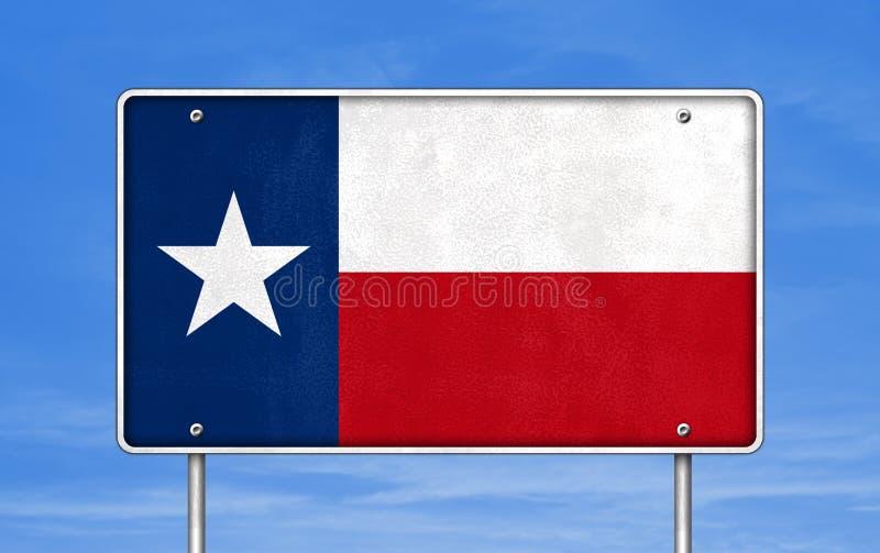 Οδικό σημάδι εθνικών οδών του Τέξας στοκ φωτογραφίες με δικαίωμα ελεύθερης χρήσης