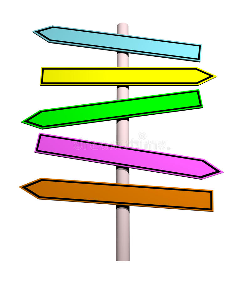 Οδικό σημάδι απεικόνιση αποθεμάτων