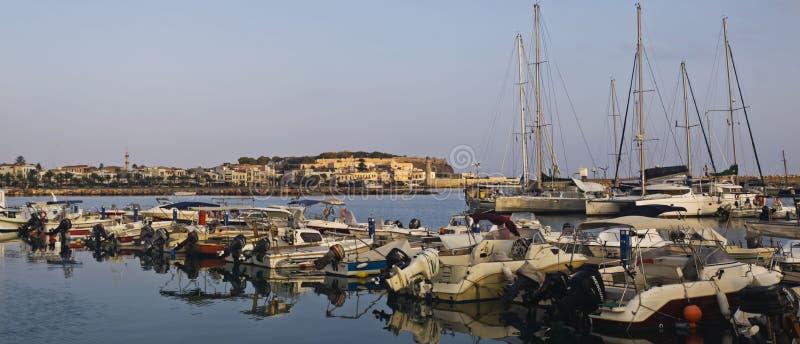 Ο λιμένας Rethymno στοκ εικόνα με δικαίωμα ελεύθερης χρήσης