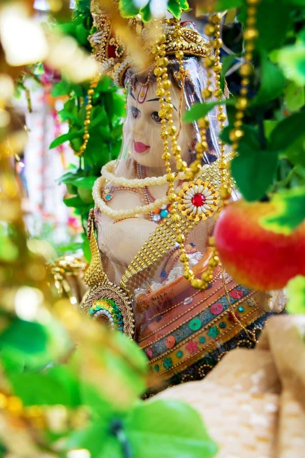 Ο ινδός Θεός, Λόρδος Krishna, στοκ εικόνα με δικαίωμα ελεύθερης χρήσης