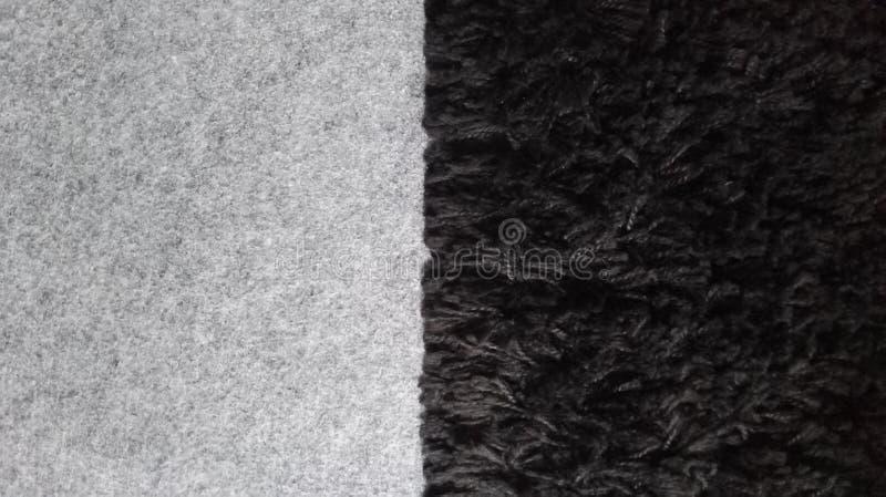 Ο διπλός γκρίζος Μαύρος ταπήτων στοκ φωτογραφίες με δικαίωμα ελεύθερης χρήσης