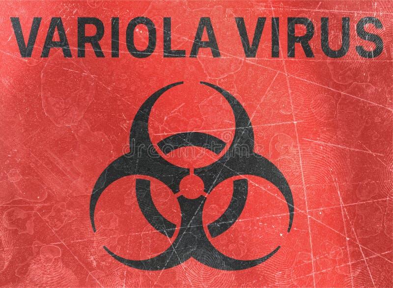 Ο ιός Variola, αναφέρεται στις βιολογικές ουσίες που αποτελούν απειλή για την υγεία των οργανισμών διαβίωσης, ιοί απεικόνιση αποθεμάτων