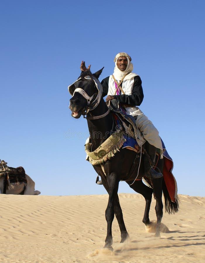 Ο κάτοικος του αραβικού κόσμου στοκ εικόνα