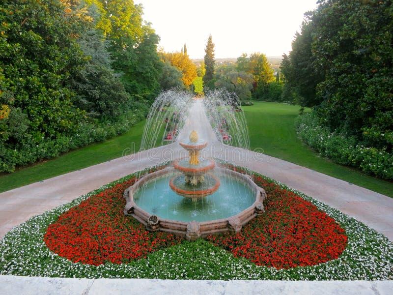 Ο κήπος καρδιών στοκ εικόνα