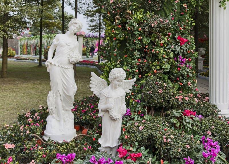 Ο κήπος στο φεστιβάλ ήλιων, chengdu, Κίνα στοκ εικόνες με δικαίωμα ελεύθερης χρήσης