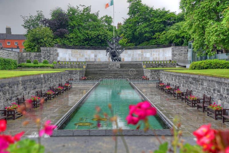 Ο κήπος της ενθύμησης στο Δουβλίνο, Ιρλανδία στοκ εικόνες