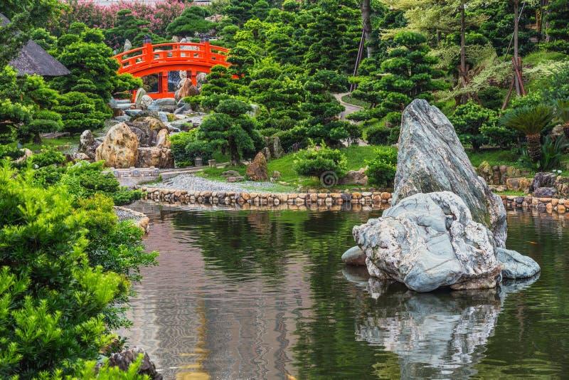 Ο κήπος της Lian γιαγιάδων, αυτό είναι ένα κυβερνητικό δημόσιο πάρκο στοκ εικόνες με δικαίωμα ελεύθερης χρήσης