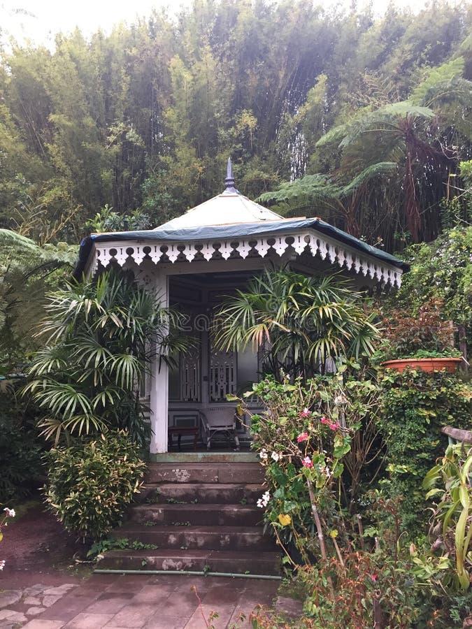 Ο κήπος του Λα Maison Folio στοκ εικόνα
