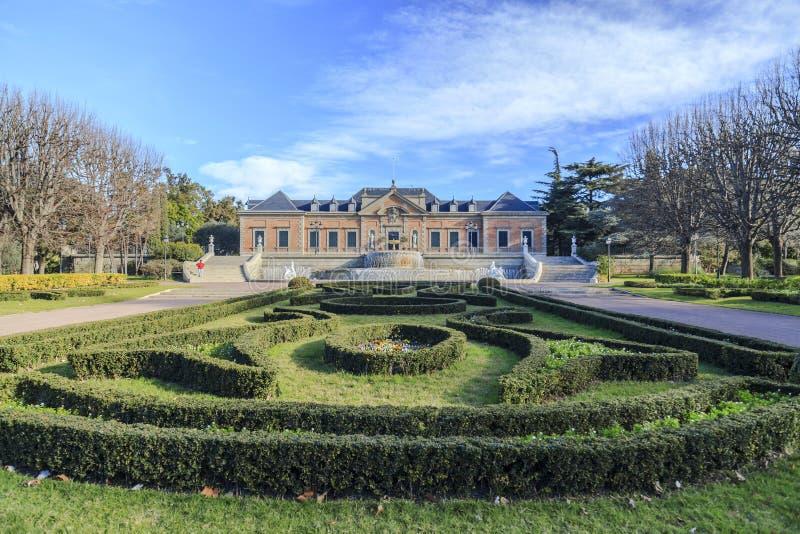 Ο κήπος, Jardins Joan Maragall και το παλάτι Albeniz, σταθμεύουν montjuic, Β στοκ εικόνες