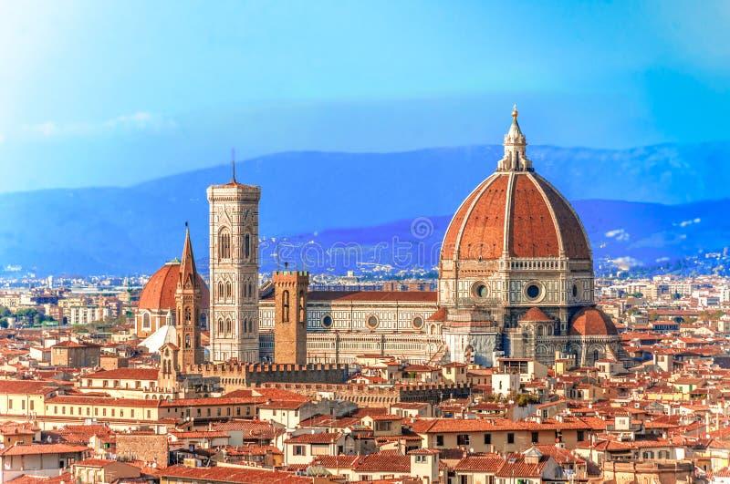 Ο καθεδρικός ναός Σάντα Μαρία del Fiore στη Φλωρεντία στοκ εικόνες