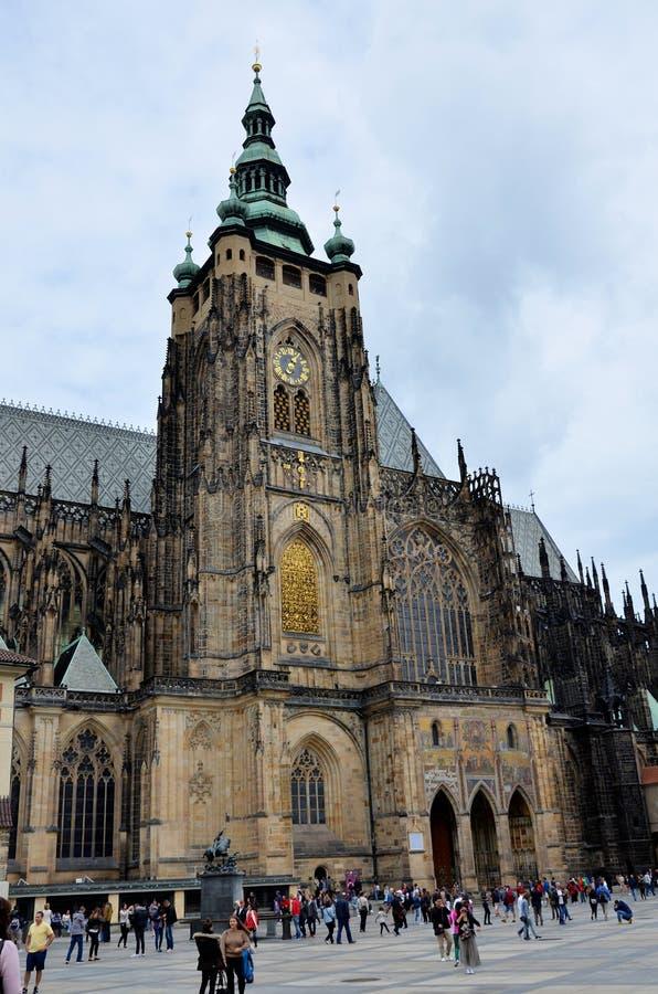 Ο καθεδρικός ναός της Πράγας στοκ φωτογραφία με δικαίωμα ελεύθερης χρήσης