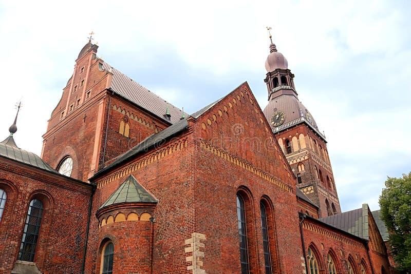 Ο καθεδρικός ναός της Ρήγας είναι ο εβαγγελικός λουθηρανικός καθεδρικός ναός στη Ρήγα, Λετονία στοκ φωτογραφία με δικαίωμα ελεύθερης χρήσης