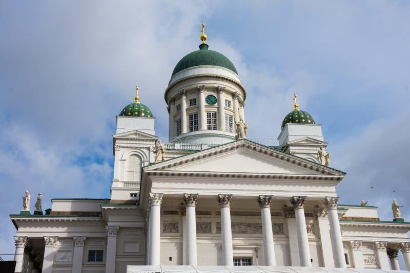 Ο καθεδρικός ναός του Ελσίνκι είναι ο φινλανδικός εβαγγελικός λουθηρανικός καθεδρικός ναός της επισκοπής του Ελσίνκι στοκ εικόνες