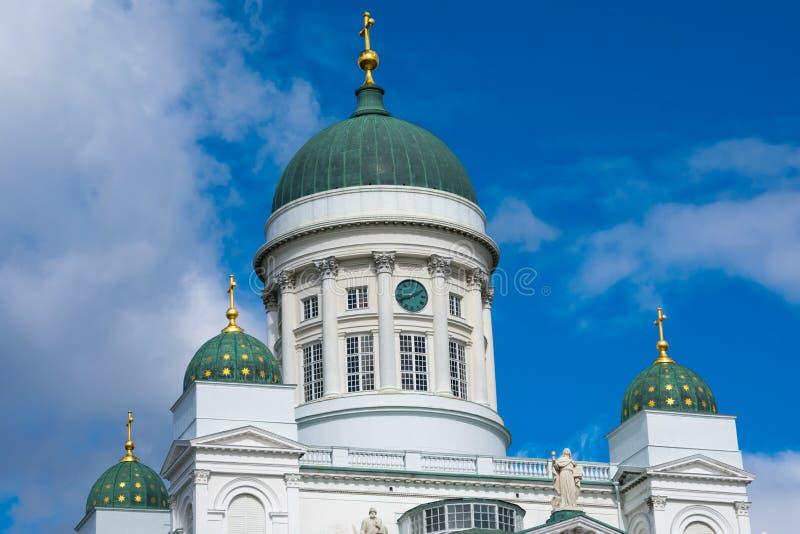 Ο καθεδρικός ναός του Ελσίνκι είναι ο φινλανδικός εβαγγελικός λουθηρανικός καθεδρικός ναός της επισκοπής του Ελσίνκι στοκ φωτογραφίες