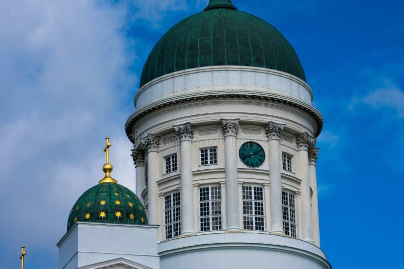 Ο καθεδρικός ναός του Ελσίνκι είναι ο φινλανδικός εβαγγελικός λουθηρανικός καθεδρικός ναός της επισκοπής του Ελσίνκι στοκ εικόνα με δικαίωμα ελεύθερης χρήσης