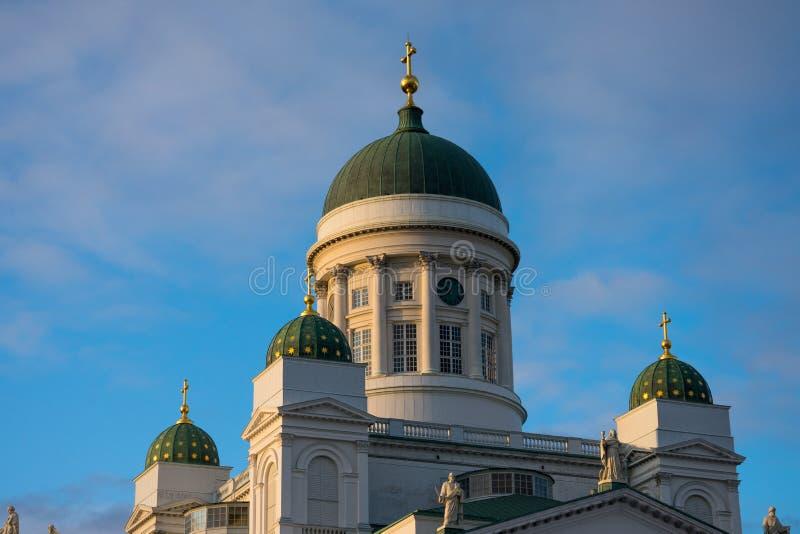 Ο καθεδρικός ναός του Ελσίνκι είναι ο φινλανδικός εβαγγελικός λουθηρανικός καθεδρικός ναός της επισκοπής του Ελσίνκι στοκ φωτογραφίες με δικαίωμα ελεύθερης χρήσης