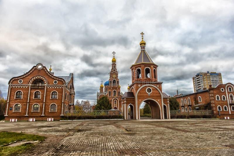 Ο καθεδρικός ναός του ιερού πρίγκηπα Βλαντιμίρ ίσος--ο-αποστόλων, στοκ εικόνες