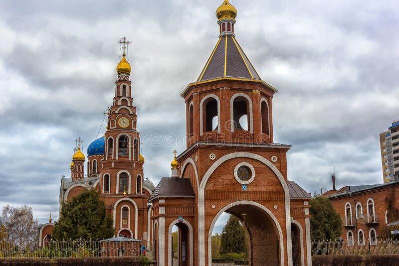Ο καθεδρικός ναός του ιερού πρίγκηπα Βλαντιμίρ ίσος--ο-αποστόλων, στοκ φωτογραφία με δικαίωμα ελεύθερης χρήσης