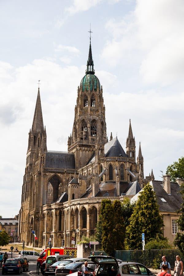 Ο καθεδρικός ναός του Bayeux στοκ φωτογραφίες