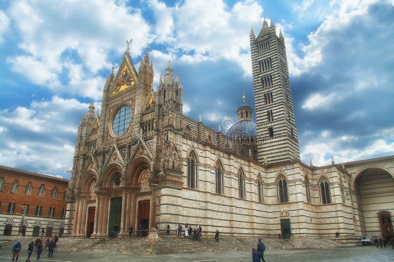 Ο καθεδρικός ναός στη Σιένα, Ιταλία στοκ φωτογραφία με δικαίωμα ελεύθερης χρήσης