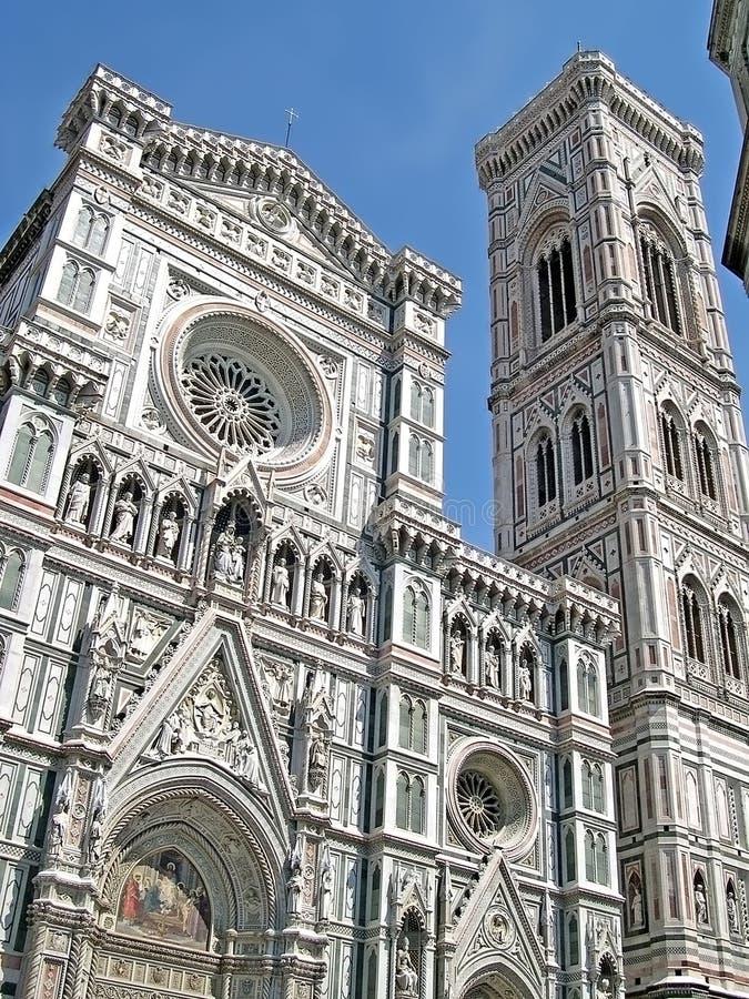 Ο καθεδρικός ναός της Φλωρεντίας Ιταλία στοκ φωτογραφία