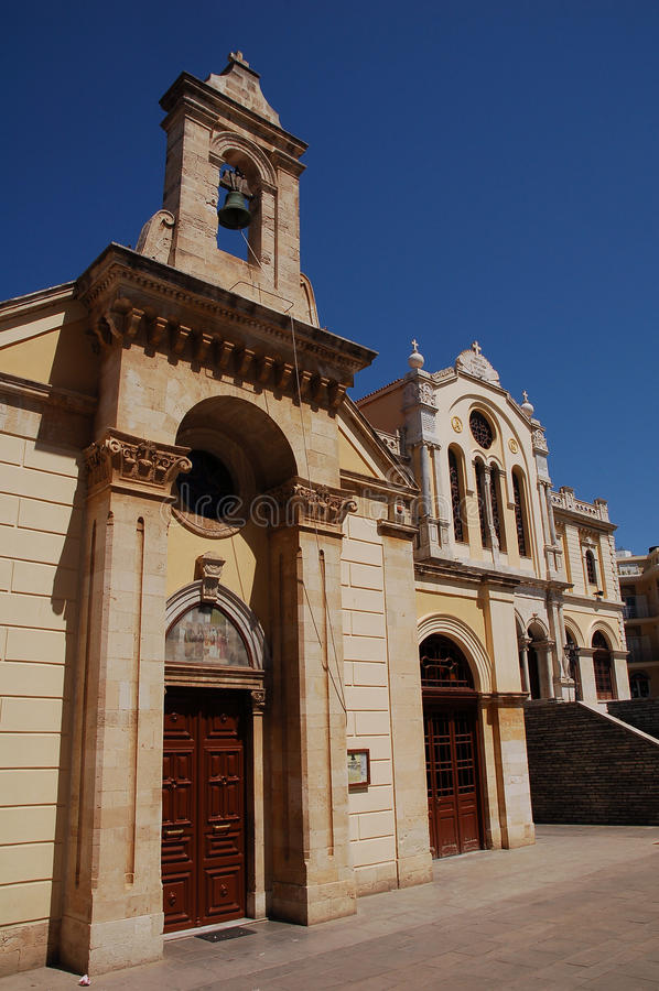 Ο καθεδρικός ναός του ST Minas κλείνει την άποψη στοκ εικόνες με δικαίωμα ελεύθερης χρήσης
