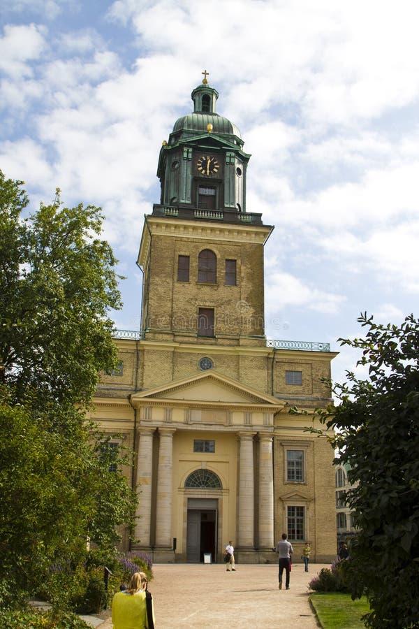 Ο καθεδρικός ναός Goteborg στοκ φωτογραφία με δικαίωμα ελεύθερης χρήσης