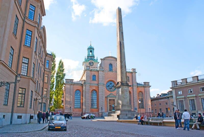 Ο καθεδρικός ναός Stokholm στοκ εικόνες