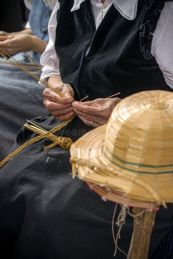 Ο καπέλο-κατασκευαστής στοκ εικόνα