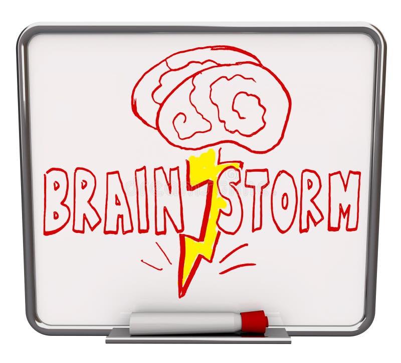 ο καταιγισμός ιδεών χαρτ&omi απεικόνιση αποθεμάτων