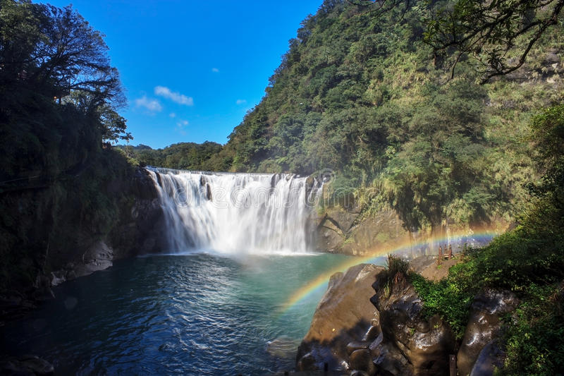Ο καταρράκτης μέσα η Ταϊβάν στοκ φωτογραφίες με δικαίωμα ελεύθερης χρήσης