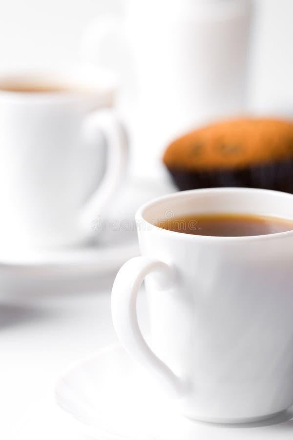 ο καφές κοιλαίνει δύο στοκ εικόνες με δικαίωμα ελεύθερης χρήσης