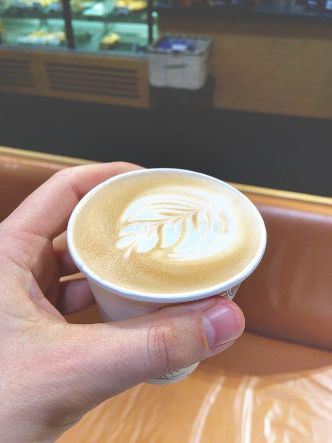 ο καφές πηγαίνει στοκ εικόνα