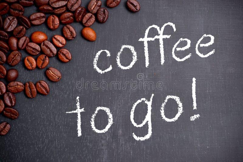 ο καφές πηγαίνει στοκ φωτογραφίες