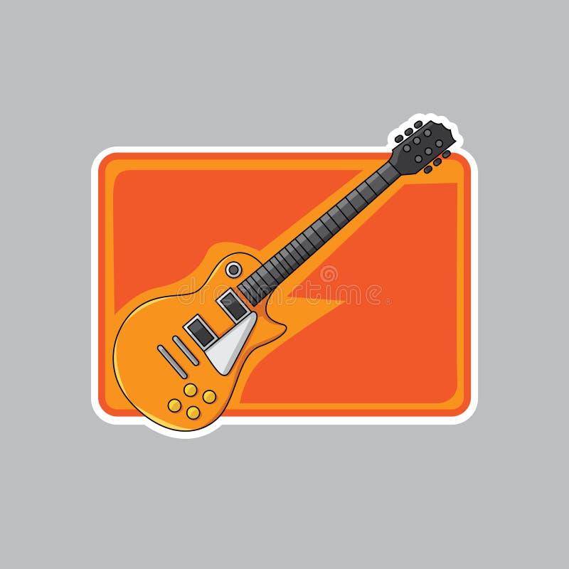 ο καλλιτέχνης θεωρεί την κιθάρα ι ανεμιστήρων gibson όχι βράχος στοκ εικόνες