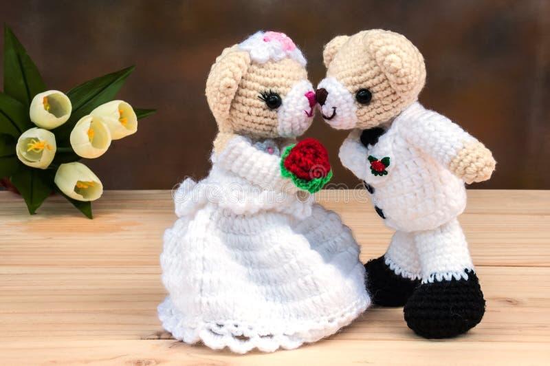 Ο καλός γάμος αντέχει τις κούκλες στοκ φωτογραφίες με δικαίωμα ελεύθερης χρήσης