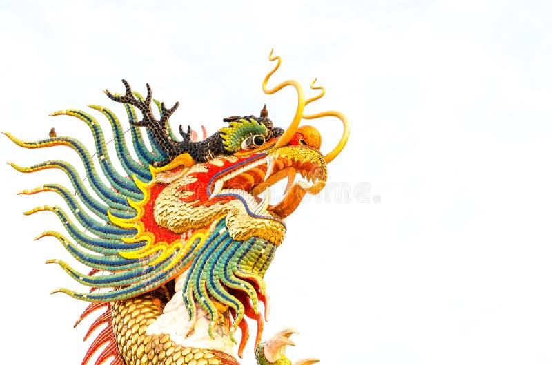Ο κινεζικός δράκος Nong Somboon στοκ φωτογραφία με δικαίωμα ελεύθερης χρήσης