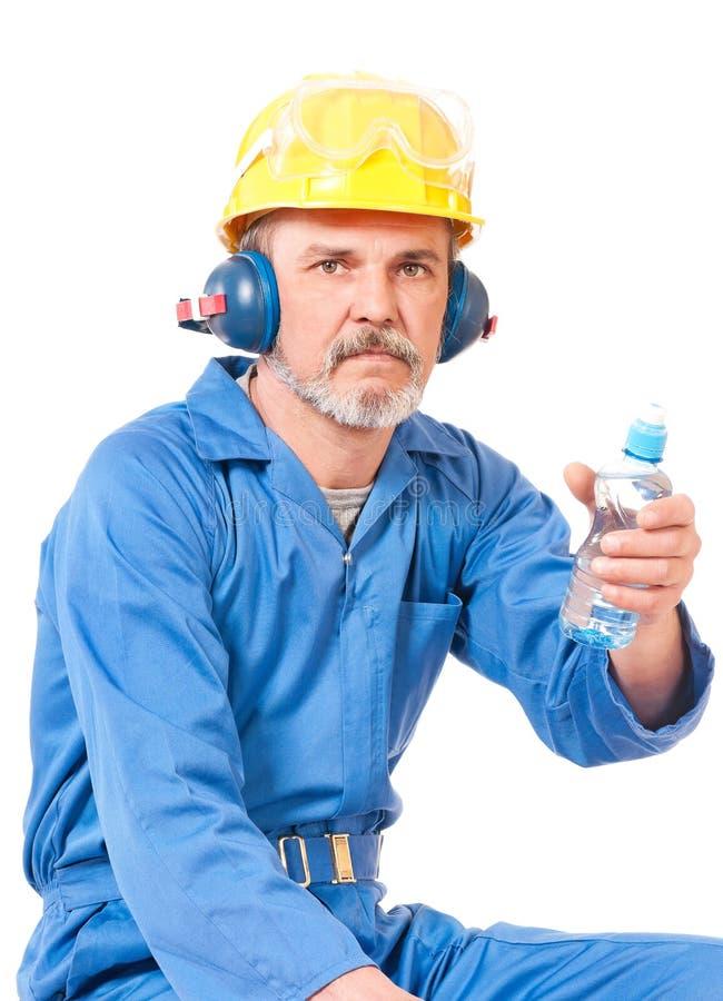 Ενήλικος εργαζόμενος στοκ εικόνες με δικαίωμα ελεύθερης χρήσης