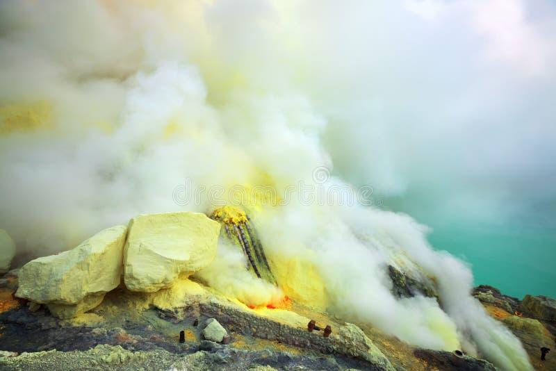 ο κρατήρας στοκ εικόνα