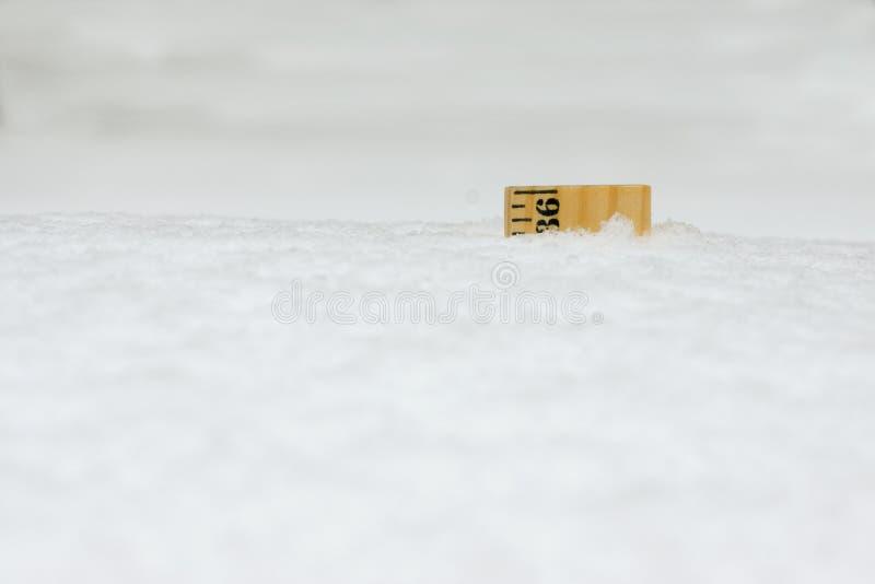 Ο κυβερνήτης στο χιόνι 36 ίντσες κλείνει στοκ εικόνα με δικαίωμα ελεύθερης χρήσης