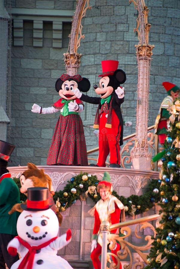 Ο κόσμος Mickey Mouse της Disney παρουσιάζει στοκ φωτογραφίες με δικαίωμα ελεύθερης χρήσης