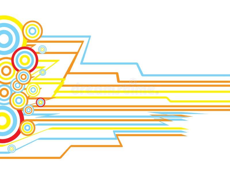 ο κύκλος διαστρεβλώνε&iota ελεύθερη απεικόνιση δικαιώματος