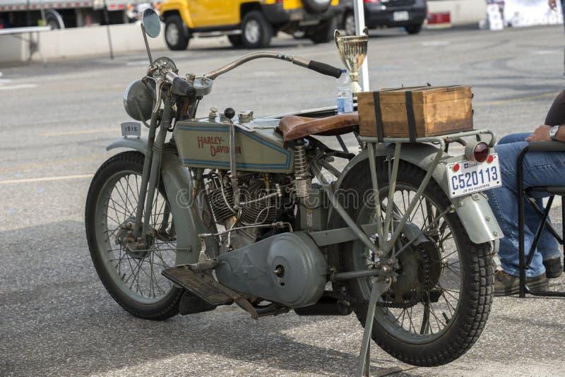 Ο κλασικός Harley Davidson στοκ εικόνα με δικαίωμα ελεύθερης χρήσης