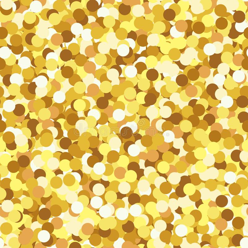 Ο λάμποντας χρυσός ακτινοβολεί διανυσματικό άνευ ραφής σχέδιο σύστασης Το σπινθήρισμα ακτινοβολεί άνευ ραφής υπόβαθρο απεικόνιση αποθεμάτων