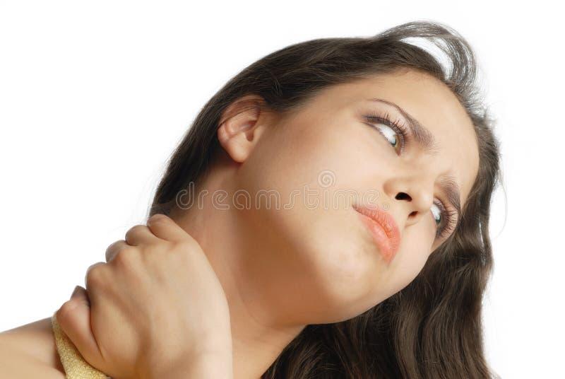 ο λαιμός μου OH στοκ φωτογραφίες με δικαίωμα ελεύθερης χρήσης