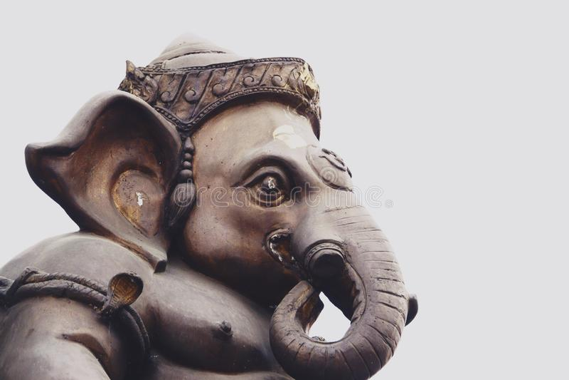 Ο Λόρδος Ganesha της επιτυχίας είναι ινδός Θεός στοκ εικόνα με δικαίωμα ελεύθερης χρήσης