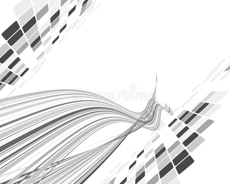 ο Μαύρος ανασκόπησης έλε&gam διανυσματική απεικόνιση