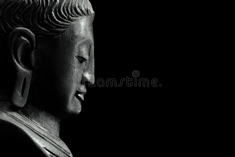 ο μαύρος Βούδας στοκ φωτογραφίες με δικαίωμα ελεύθερης χρήσης