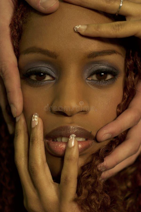 ο Μαύρος ομορφιάς στοκ φωτογραφίες με δικαίωμα ελεύθερης χρήσης